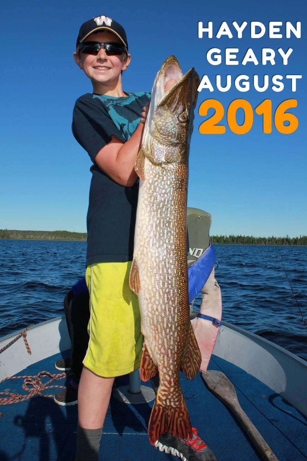 Trophy Northern Pike and Walleye Fishing near Red Lake Ontario Canada